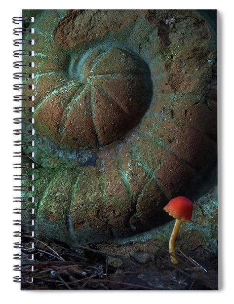 The Spirit Cannot Fail Spiral Notebook