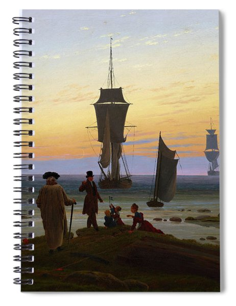 The Stages Of Life, 1834 Spiral Notebook