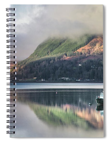 The Stillness Spiral Notebook