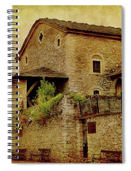 The Stone Church Spiral Notebook