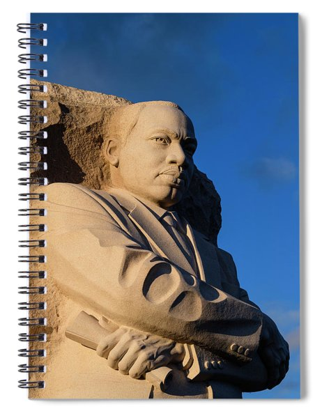 The Stone Of Hope Monumental Statue Spiral Notebook