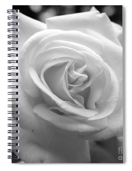 The Subtle Rose Spiral Notebook