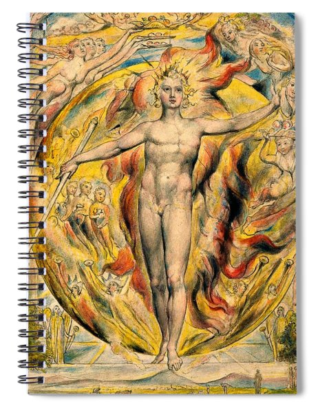 The Sun At His Eastern Gate -digital Remastered Edition Spiral Notebook