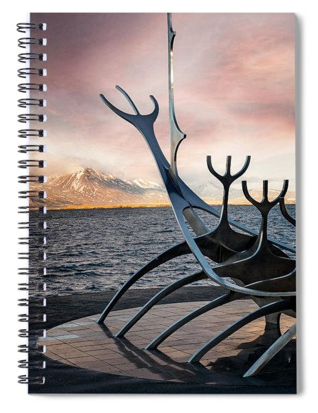The Sun Voyager #1 Spiral Notebook