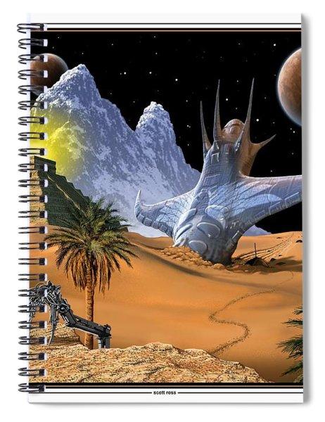 The Survivor Spiral Notebook