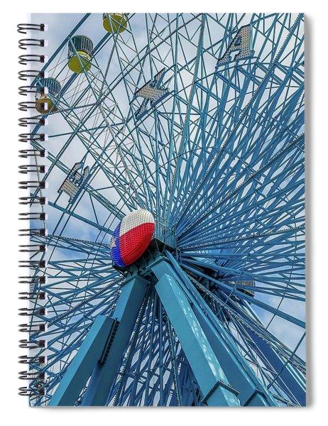 The Texas Star, State Fair Of Texas Spiral Notebook