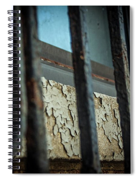 The Texture Of Time Spiral Notebook