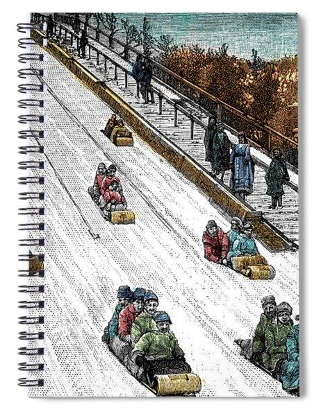 The Toboggan Slide Spiral Notebook