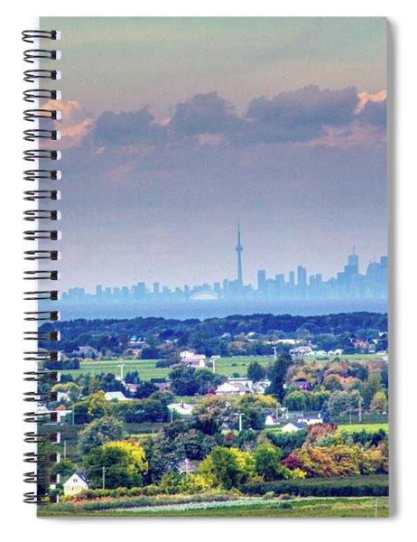 The Toronto Skyline Spiral Notebook