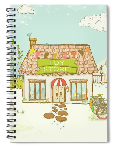 The Toy Store Spiral Notebook