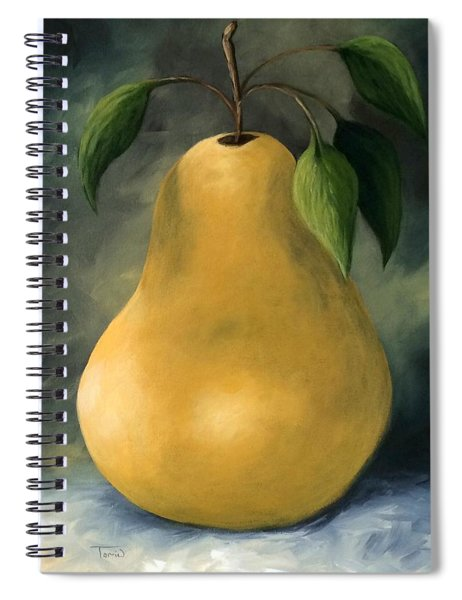 The Treasured Pear Spiral Notebook