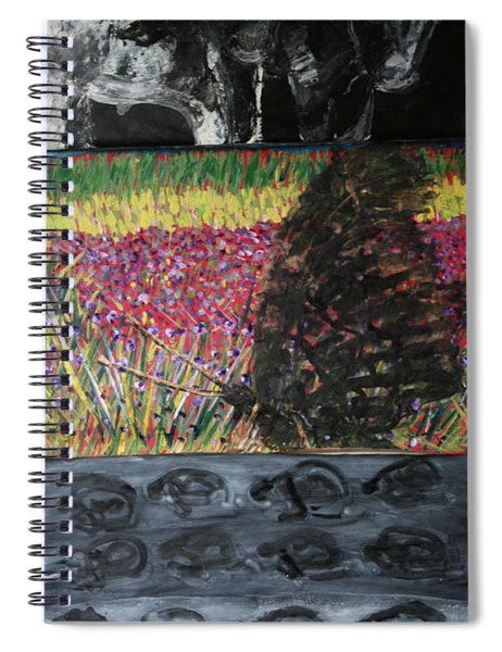 The Trickle Down Effect Spiral Notebook