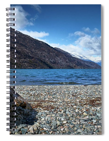 The Puelo Lake In The Argentine Patagonia Spiral Notebook