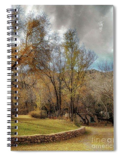 The Turquoise Door Spiral Notebook