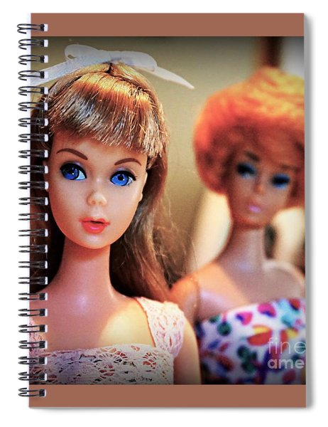 The Two Dolls Spiral Notebook