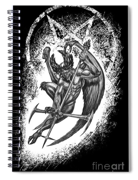 The Unholy Spiral Notebook