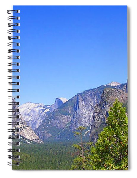 The Valley Of Inspiration-yosemite Spiral Notebook