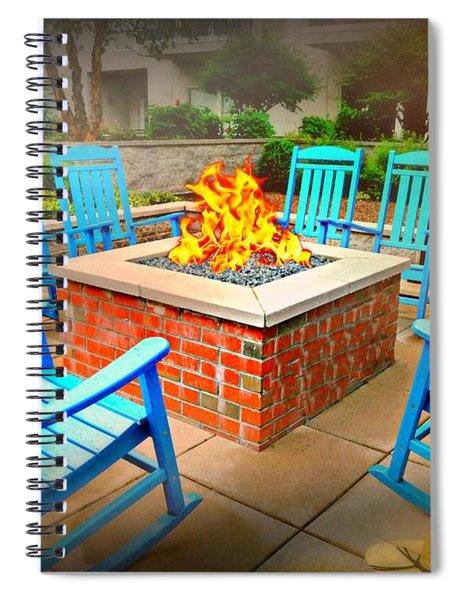The Vault Firepitt Spiral Notebook