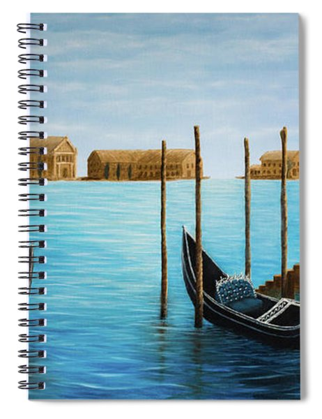 The Venetian Phoenix Spiral Notebook