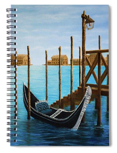 The Venetian Phoenix Spiral Notebook