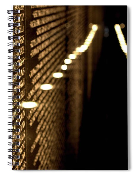 The Vietnam Veterans Memorial Spiral Notebook