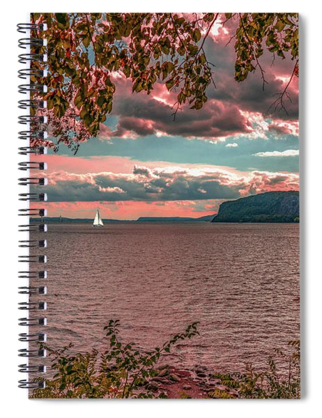 The View From Croton Point Spiral Notebook