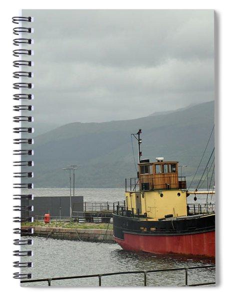 The Vital Spark Spiral Notebook