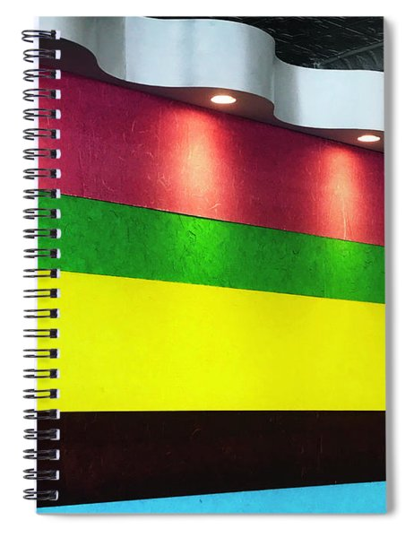 The Waiting Room Spiral Notebook by Rick Locke