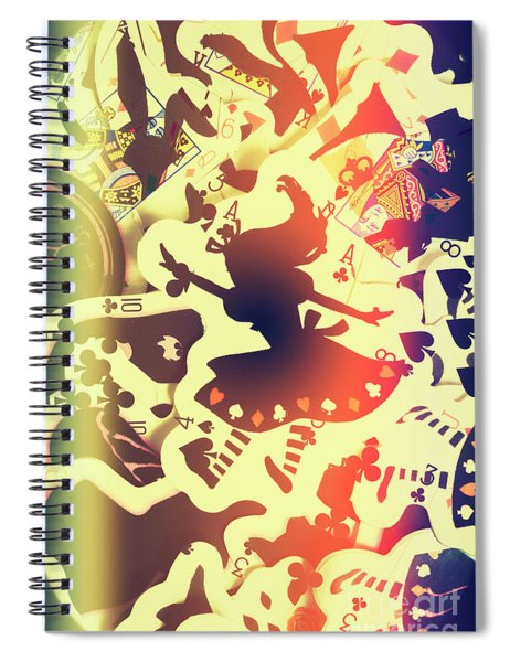 The Waking Game Spiral Notebook
