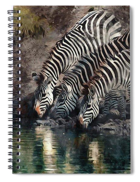 The Waterhole Spiral Notebook