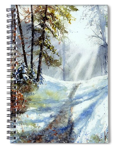 The White Light Spiral Notebook