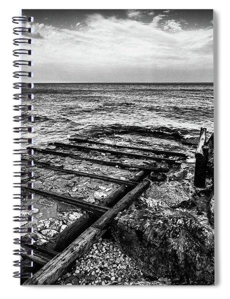 The Winter Sea #6 Spiral Notebook