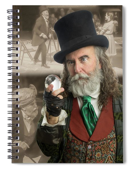 the Wizard Spiral Notebook