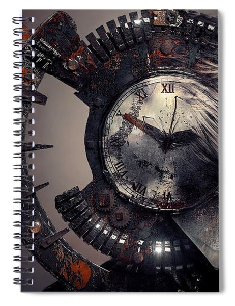 The Woman That Time Forgot Spiral Notebook