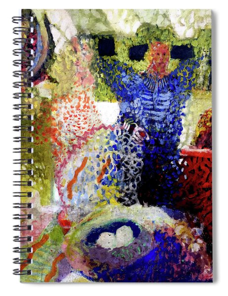 The Word Was Made Flesh The Egg And I Spiral Notebook
