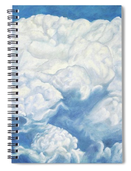 Cloud Series. The World Of Animals In The Clouds Spiral Notebook