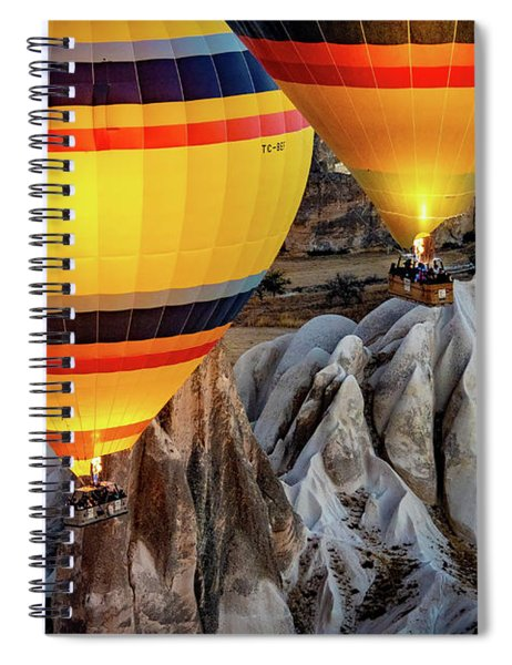 The Yellow Balloons Spiral Notebook