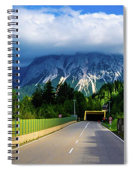 The Yellow Tunnel Spiral Notebook