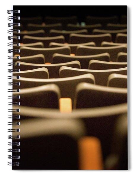 Theater Seats Spiral Notebook