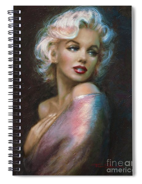 Theo's Marilyn Ww Blue Spiral Notebook