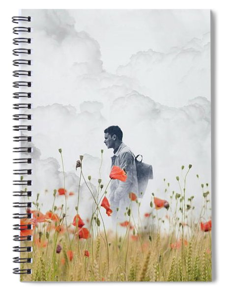 The Time Traveler  Spiral Notebook