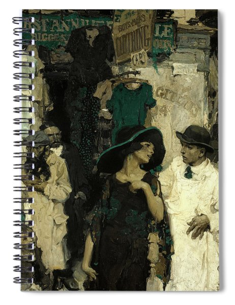 Third Avenue, Lower East Side Spiral Notebook