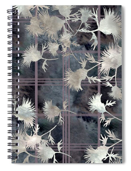 Thistle Plaid  Spiral Notebook
