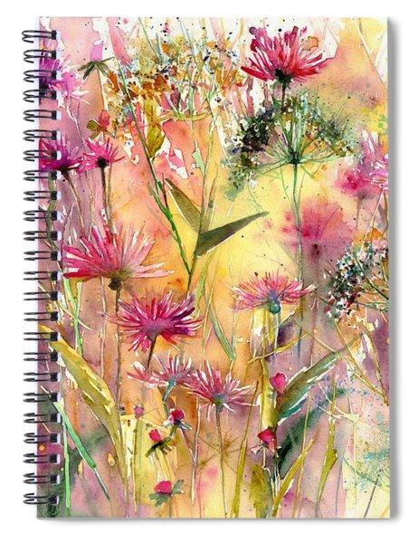 Thistles Impression Spiral Notebook