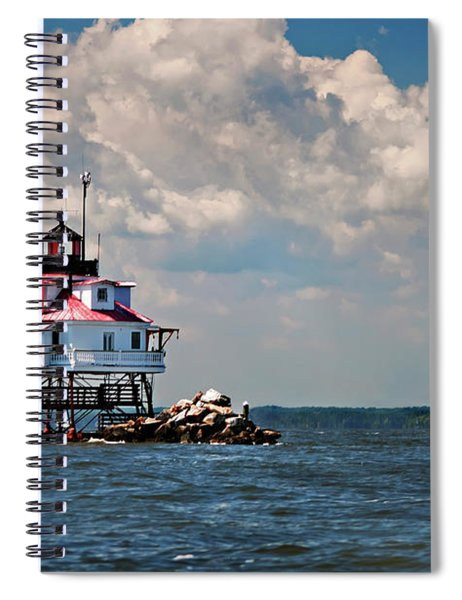 Thomas Point Shoal Lighthouse Spiral Notebook