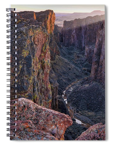 Thousand Creek Gorge Spiral Notebook