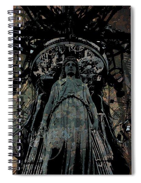 Three Caryatids Spiral Notebook