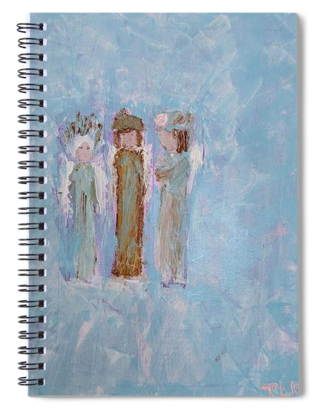 Angels For Appreciation Spiral Notebook