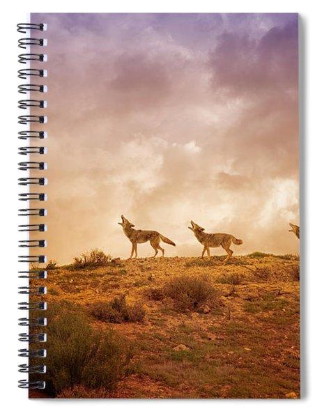 Three Part Harmony Spiral Notebook