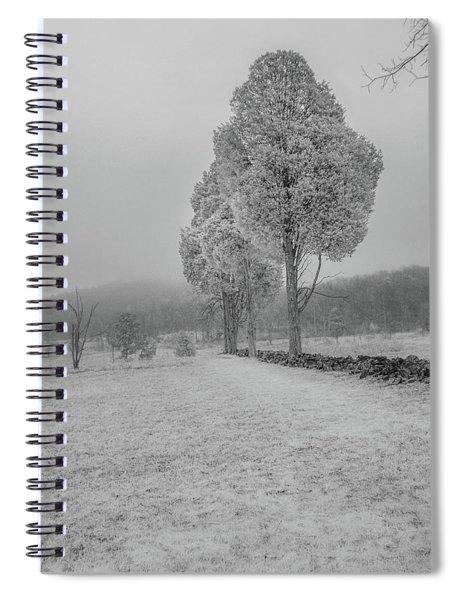 Three Sentinals Spiral Notebook